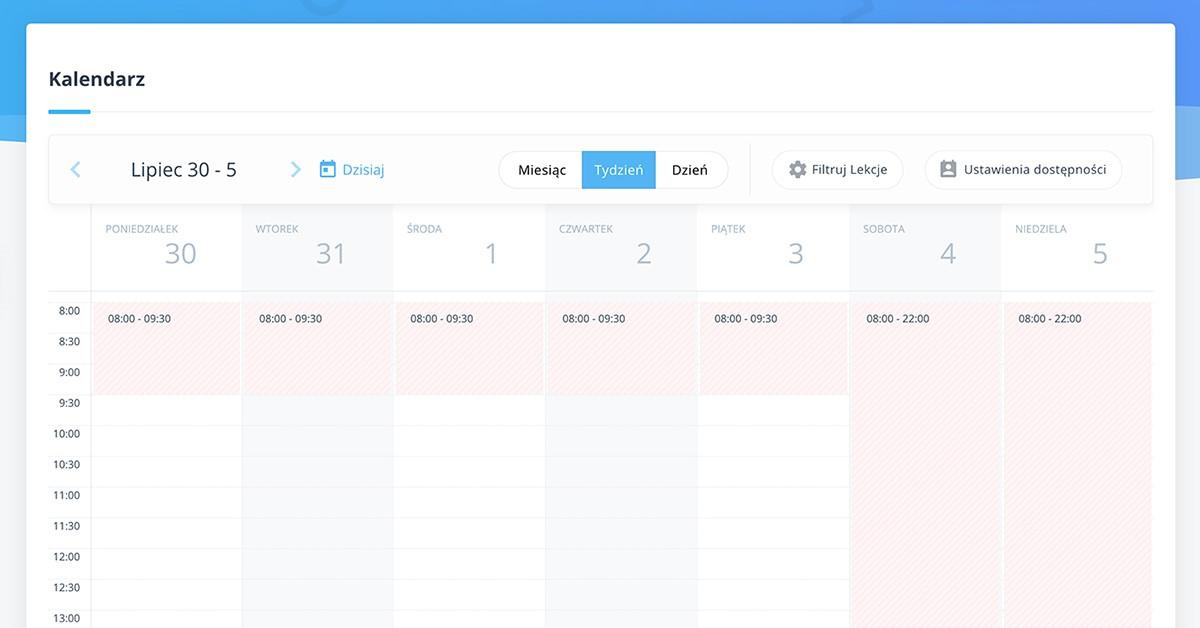 Kalendarz w profilu nauczyciela języków obcych 03