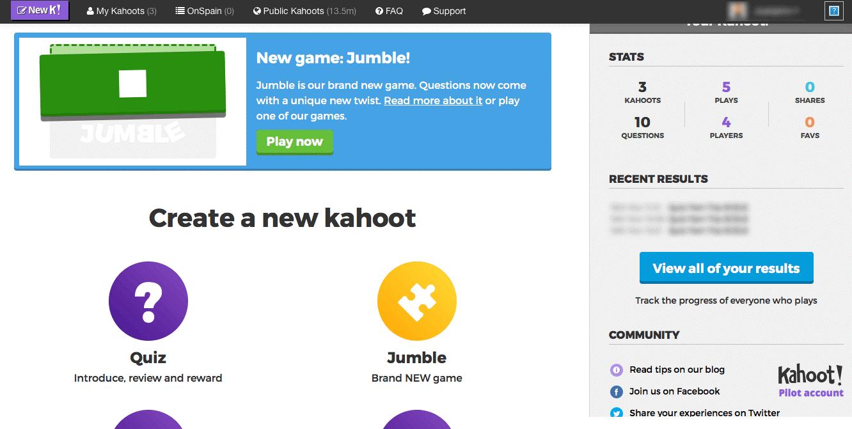 10 narzędzi do lekcji online Kahoot blog LingRoom